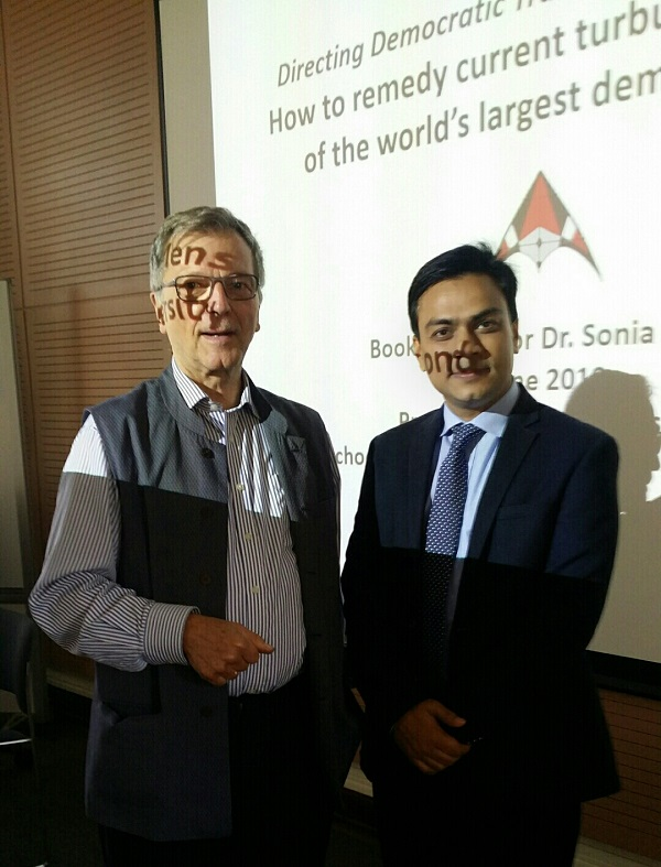 Dr. Tarik is with Professor Dr Werner F Menski of SOAS, University of London, UK after attending a conference at SOAS