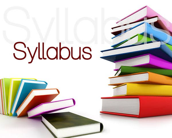 Syllabus for 2018-19 to 2022